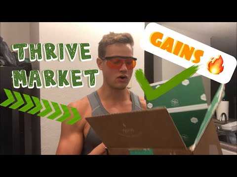 thrive-market-review-|-haul-/-healthy-food-ideas