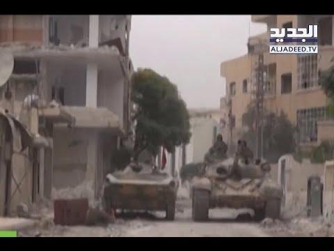 النمر يدخل الى الغوطة الشرقية - ألين حلاق