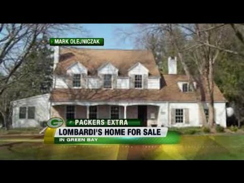 Vince Lombardi's first Green Bay house is on the market