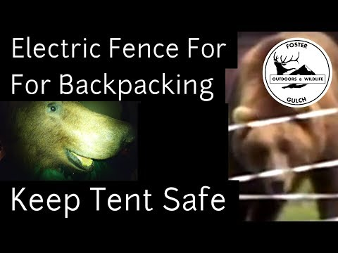 Bear Proofing A Tent With An Ultralight Electric Fence? - Back Country Camping In Grizzly Areas