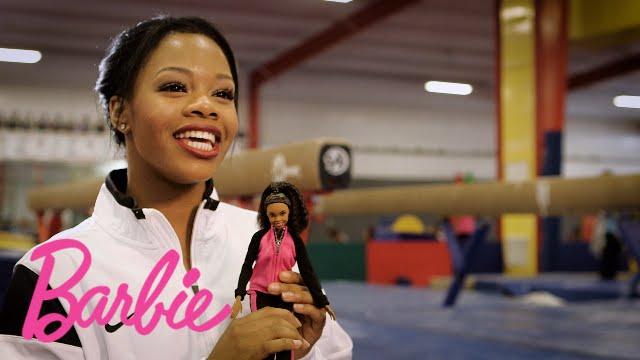 introducing the gabby douglas barbie doll barbie youtube