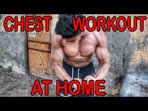 CHEST WORKOUT AT HOME (NO GYM)