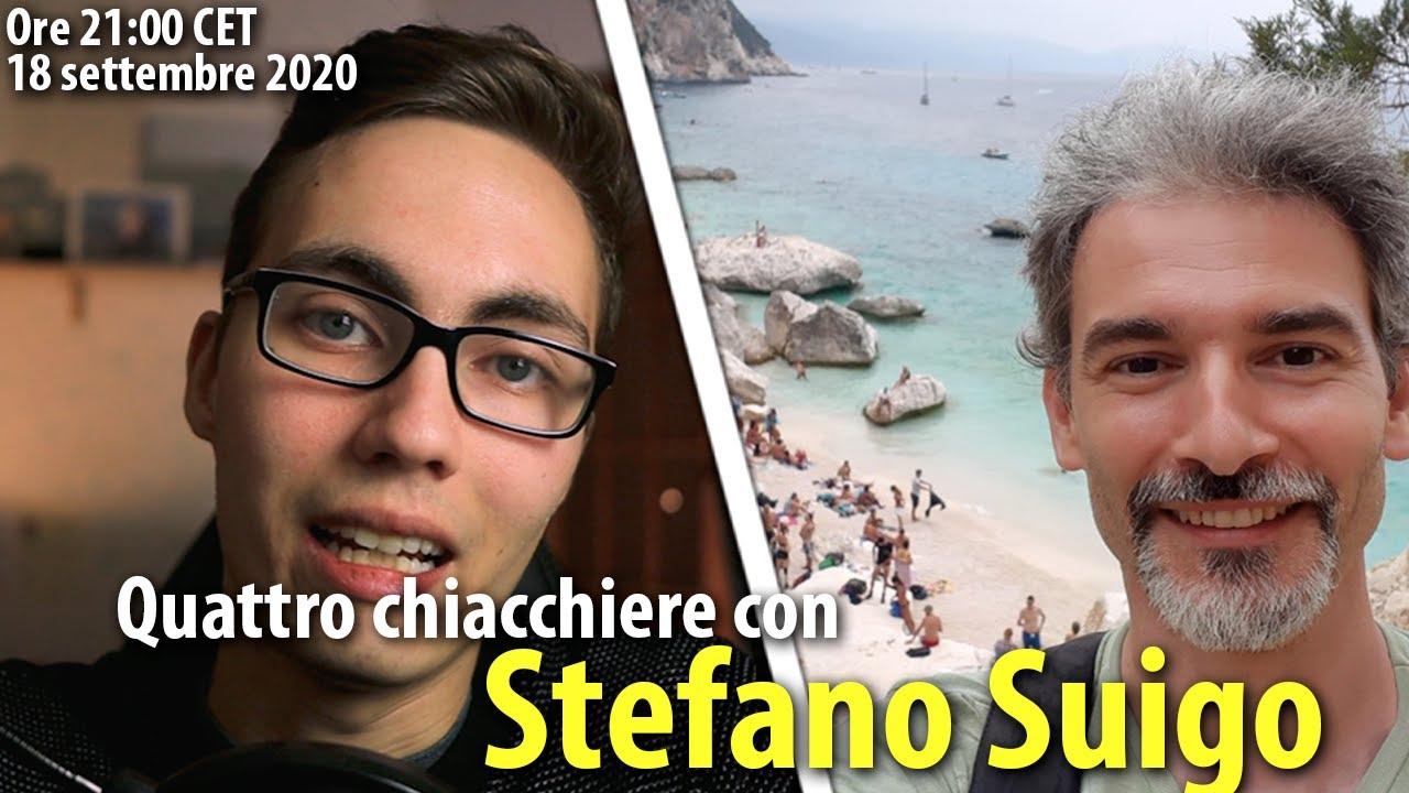 Quattro chiacchiere con Stefano Suigo, poliglotta e traduttore - Live #10
