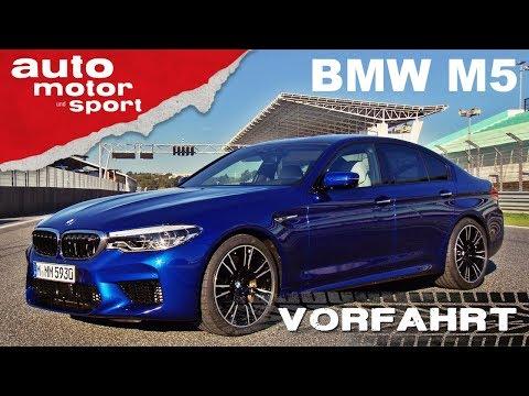 BMW M5 (2018): Noch immer ein Drifter? - Vorfahrt (Fahrbericht)| auto motor und sport