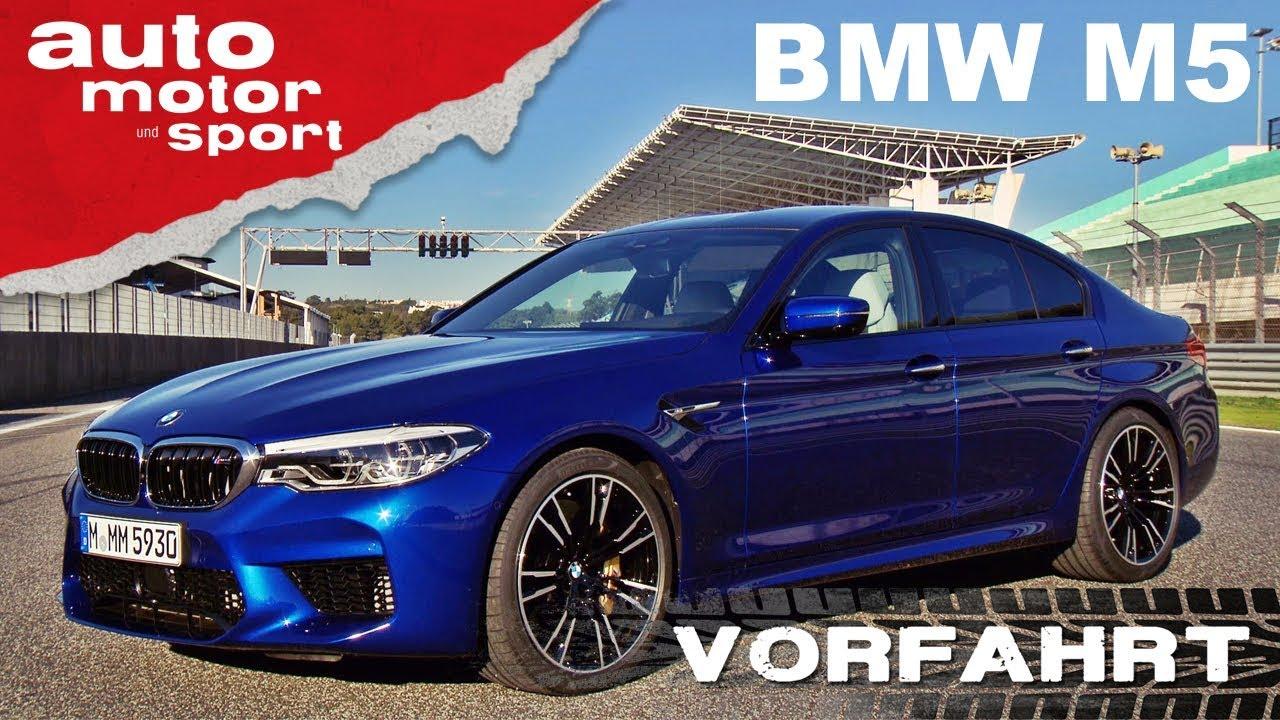 BMW M5 (2018): Noch immer ein Drifter? - Vorfahrt (Fahrbericht ...