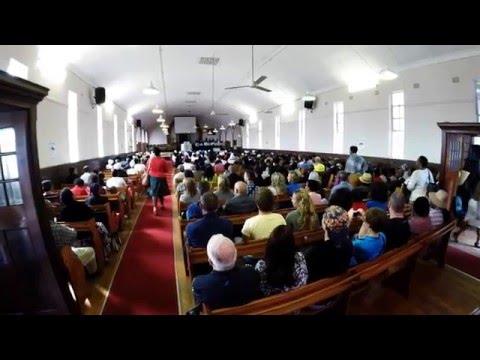 Gospel at the Langa Methodist Church, Cape Town