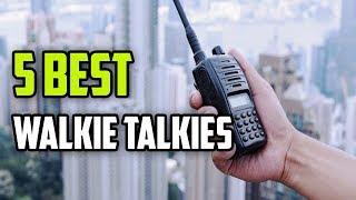 ☑️ Best Walkie Talkies 2018 - Top 5 Walkie Talkies | Dotmart