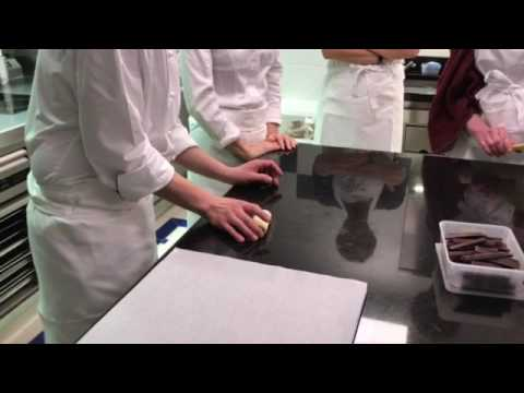 How to make pain au chocolate at Ritz Paris