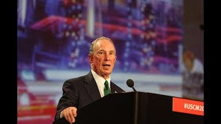 Former NYC mayor Bloomberg opens door to 2020 run for  president