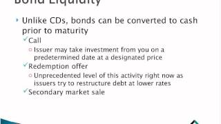 INs & OUTs of Bond Investing
