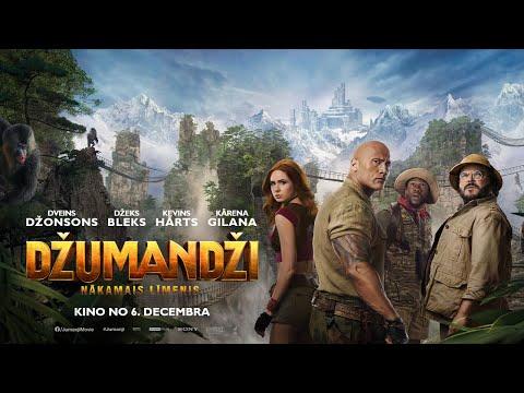"""Piedzīvojumu Filma """"Džumandži: Nākamais Līmenis"""" - Kino No 6. Decembra!"""