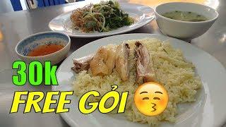 Miễn Phí Dĩa gỏi khi ăn CƠM GÀ Tam Kỳ BẮC SƠN 30k    Guide Saigon Food