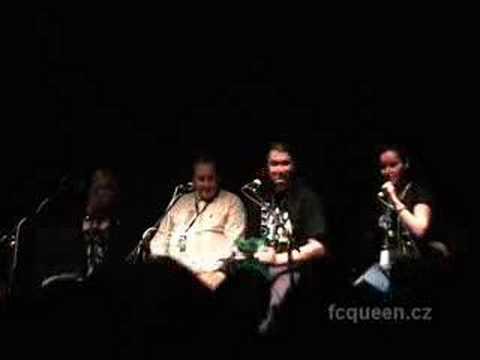 Vzpomínka na Queen 2007 video- Peter Freestone & Jacky Smith