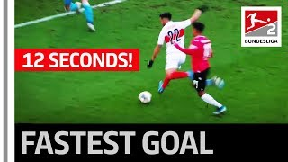 The Fastest Substitute Goal In Bundesliga 2 History