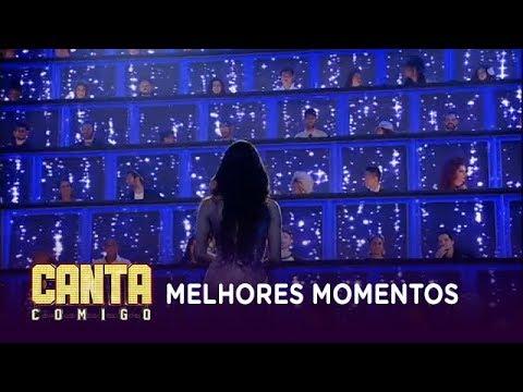 Veja os melhores momentos com os participantes da primeira temporada do Canta Comigo
