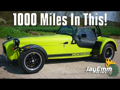 My Hardcore Daily: I Did Over 900 Miles in 5 Days In a Caterham 420R!