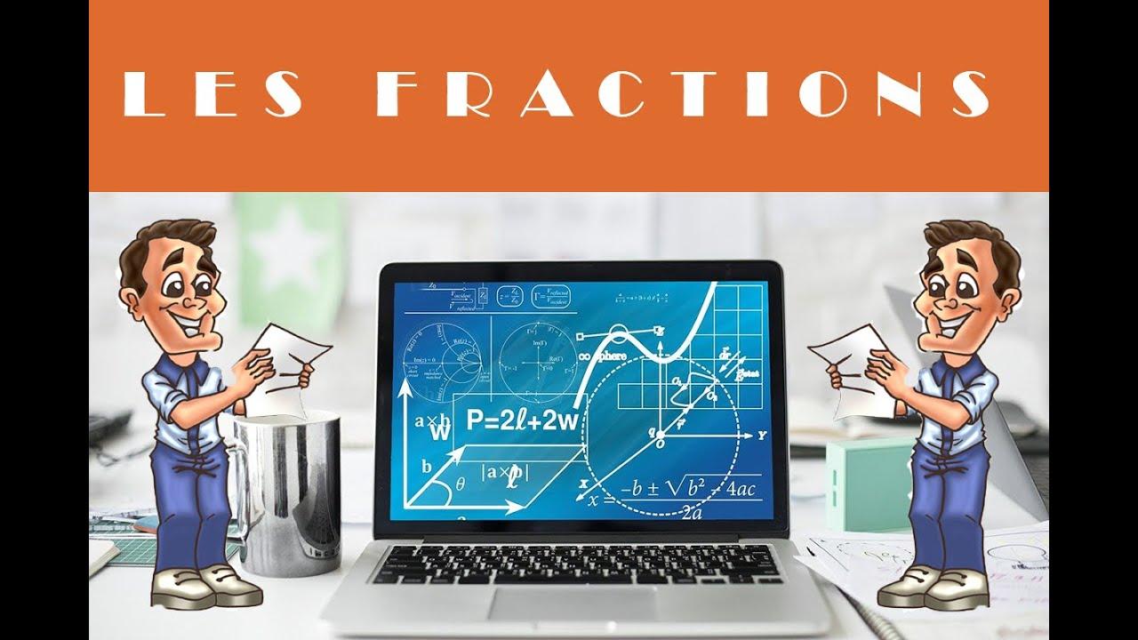 Fraction d'une quantité : exercices de maths en 6ème - YouTube