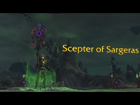 The Story of Scepter of Sargeras[Artifact Lore]