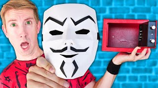 NEW HACKER MASK In Red Safe Made REGINA DISAPPEAR! Spy Ninjas Mission Kit vs Project Zorgo Battle