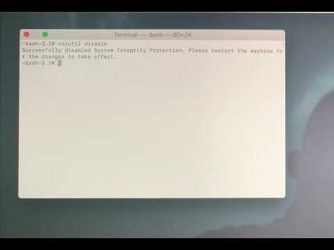How To Turn Off System Integrity Protection On Your Mac | Hướng Dẫn Tắt System Integrity Protection