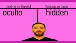 Cómo se dice ( hidden - oculto ) en Ingles