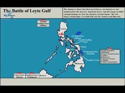 Battle of Leyte Gulf Animation