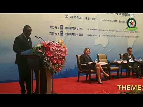 Speech from H.E Ambassador Mbelwa Kairuki in Global Poverty Reduction Forum (2)
