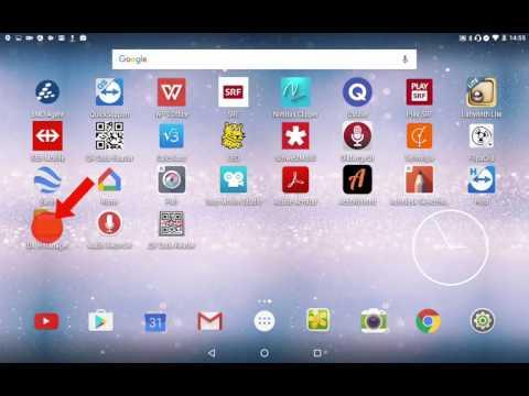 Android-Tablet: Datei auf USB-Stick übertragen
