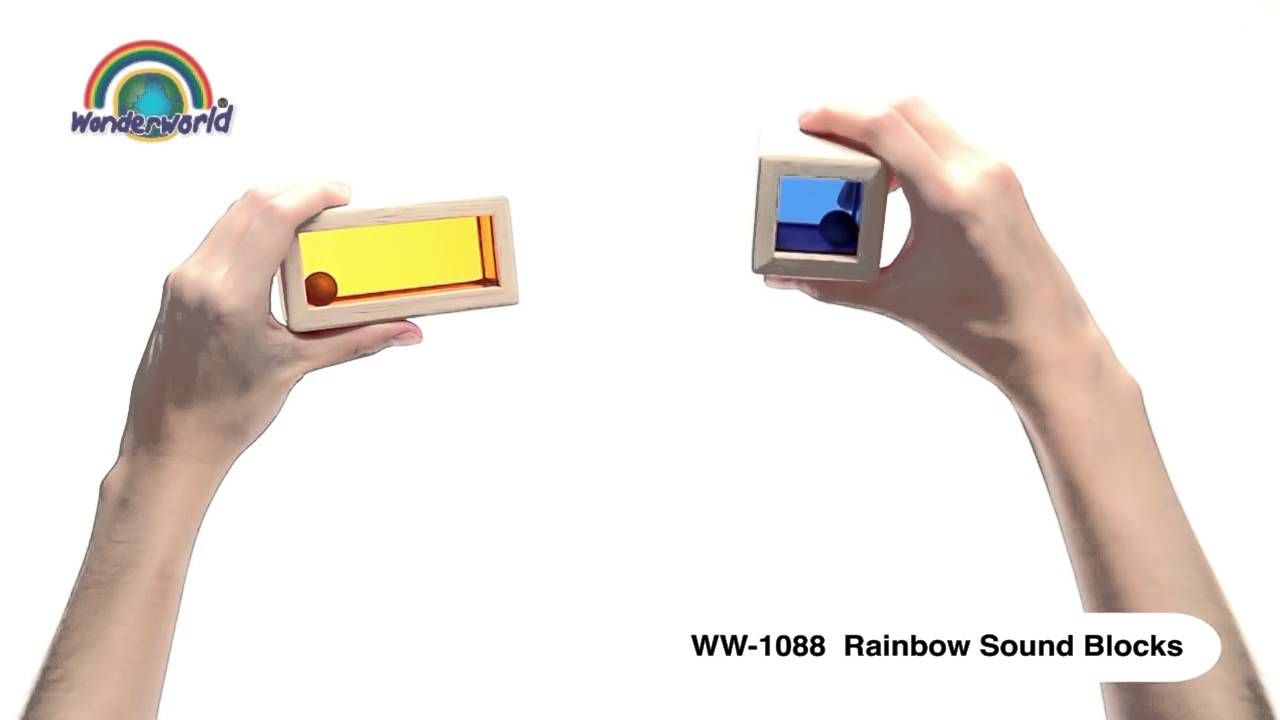 Wonderworld Rainbow Sound Blocks