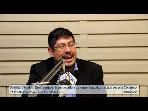 Alejandro Godoy: Rosa Bartra es la perpetradora de varios legicidios hechos por este Congreso