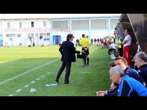 Sa Pinto - reakcije tokom utakmice ( BSK - Crvena zvezda 0:1)