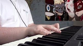 Persona 5 the animation OP2 - Dark sun (Original piano transcription + SHEET MUSIC)