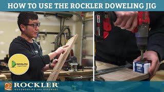 How to Make Dowel Joints with the Rockler Doweling - feat. Bevelish Creations