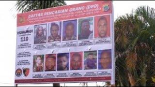 Polda Papua Sebar Foto DPO Terduga Penyerang Posramil Kisor