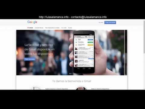 Gmail de Google - Incorporar Cuentas Adicionales Gratis - Video Completo y Más corto.