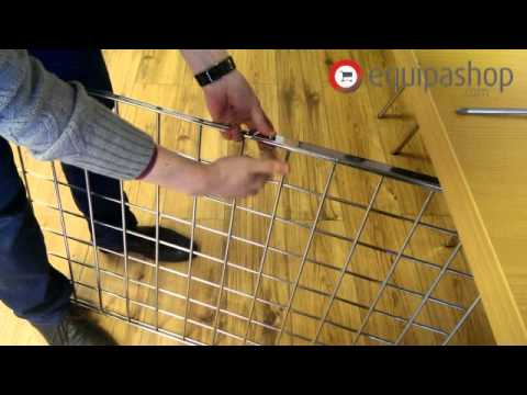 Equipashop: How to use Gridwall Legs - YouTube