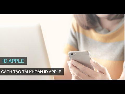 Cách Tạo Tài Khoản ID Apple Trên IPhone