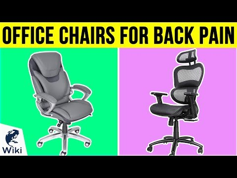 10 Best Office Chairs For Back Pain 2019