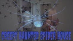 HAUNTED SPIDER HOUSE **AT MIDNIGHT**!!