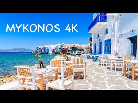 MYKONOS ISLAND (Greece) | Highlights: capital, beach clubs, kite surf & sunsets