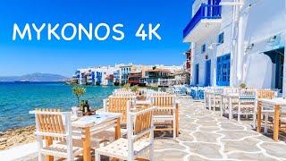 MYKONOS  SLAND Greece Highlights Capital Beach Clubs Kite Surf \u0026 Sunsets