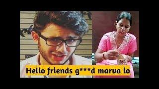 Hello Friends  G***d Marva Lo Funny Meme By Carry Minati