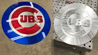 FEATURED: Chicago Cubs 2016 World Series Champions Tribute - Metal Art