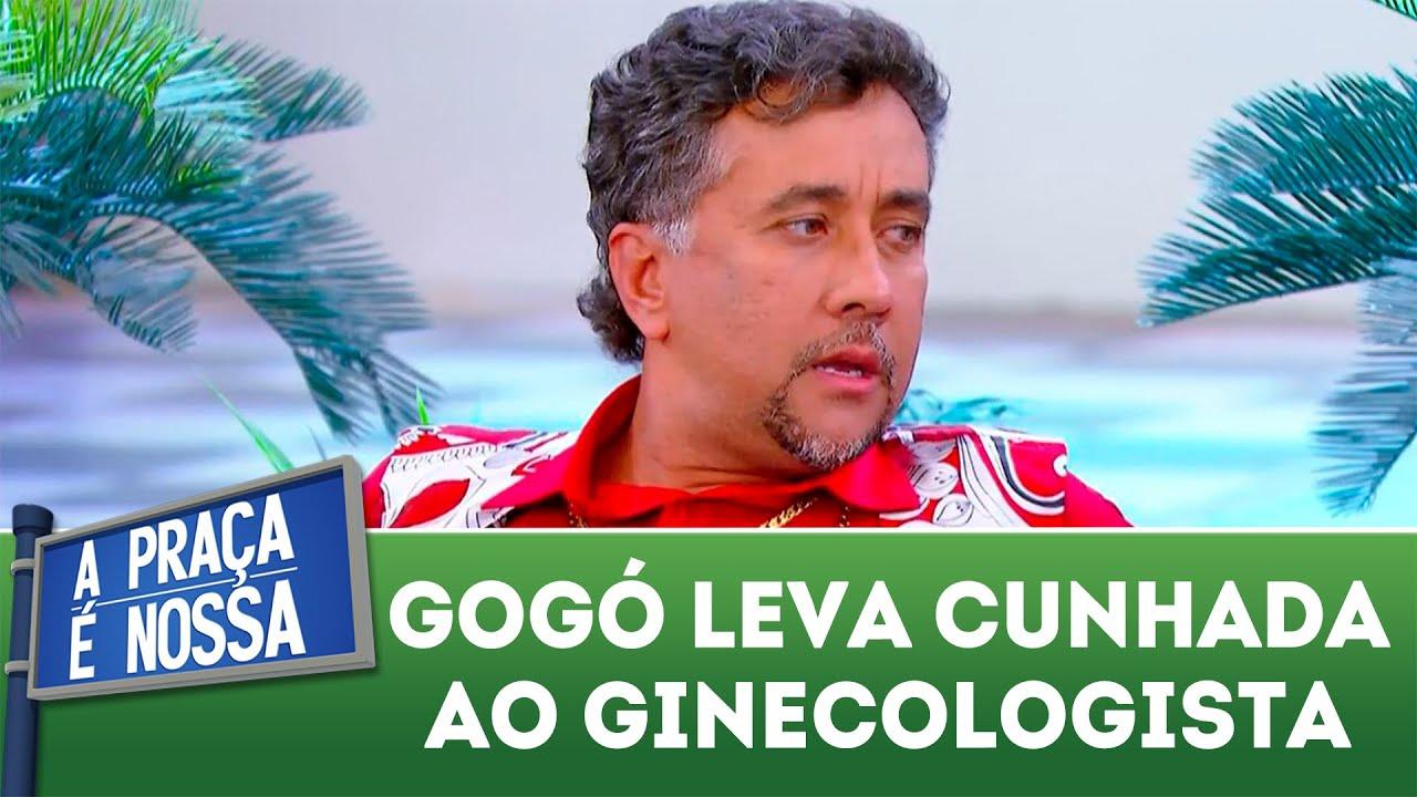 Gogó leva cunhada ao ginecologista   A Praça é Nossa (20/09/18)