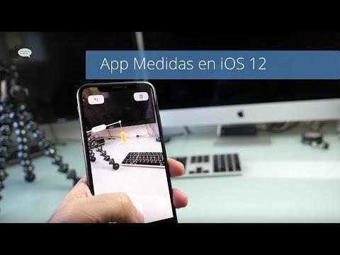 Nueva App Medidas De IOS 12 Junto Al IPhone X