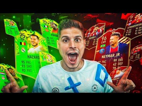 NEYMAR ROJO EN LAS RECOMPENSAS DE FUT CHAMPIONS!!! | FIFA 21