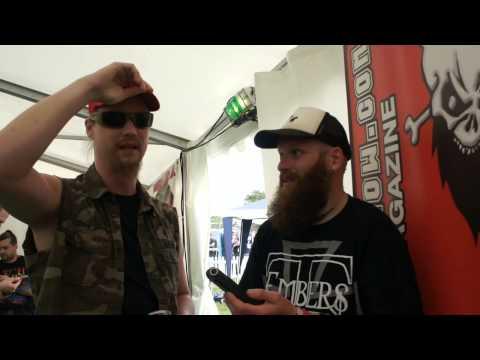 Ensiferum Bloodstock Festival Interview 2015