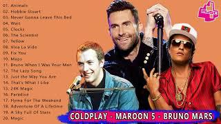 Download Kumpulan Lagu Barat Terpopuler ; Coldplay, Maroon 5, Bruno Mars ; Greatest Hits 2019