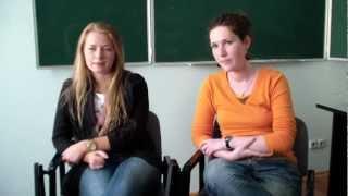 Интервью с выпускниками РХГА 2012 г.