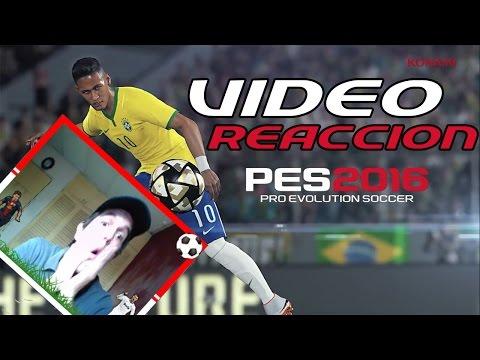 Video Reacción | Teaser Trailer PES 2016.